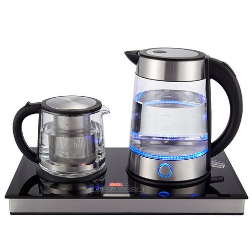 Стеклянный чайник для индукционной плиты