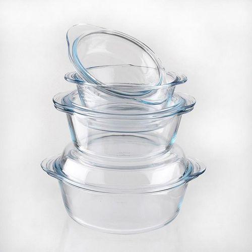 Огнеупорная посуда из стекла