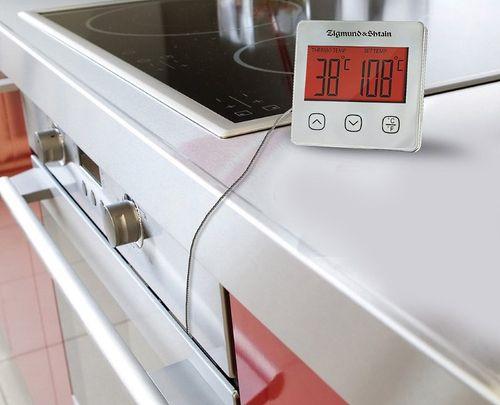 Электронный термометр в работе