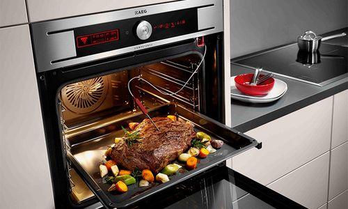 Приготовление блюда в духовке