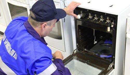 Включение газовой духовки