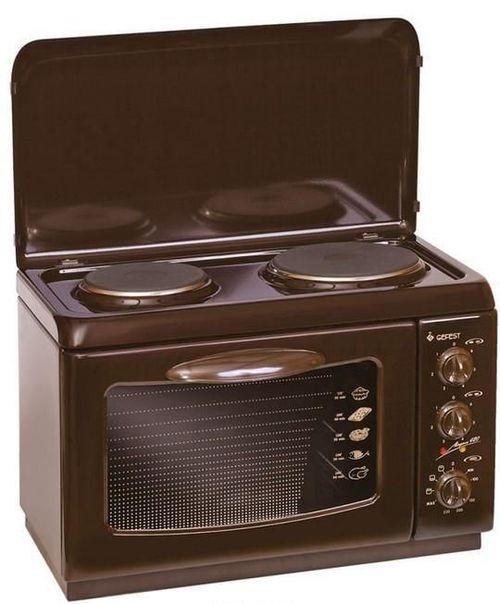 Настольная двухкомфорочная плита с духовкой Гефест Д 420 К19