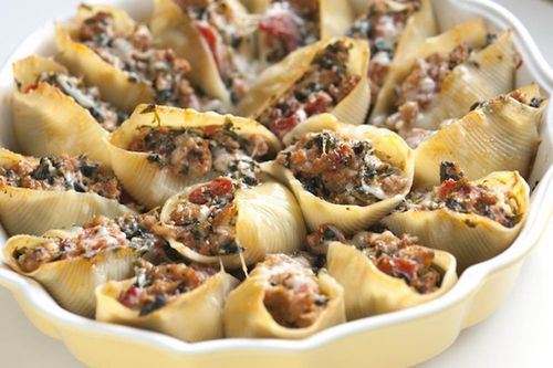 Блюдо из макарон