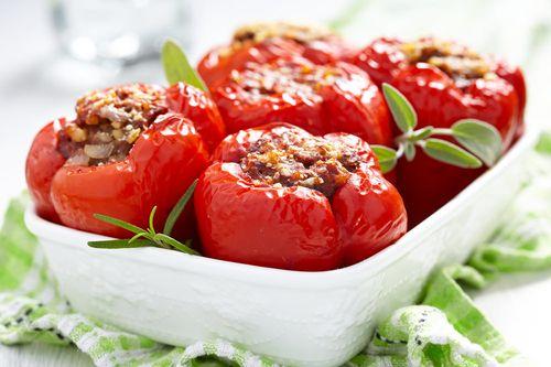 Блюдо из красного перца