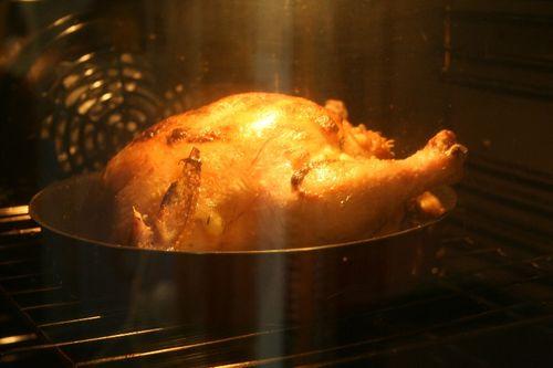 Приготовление курицы в духовке