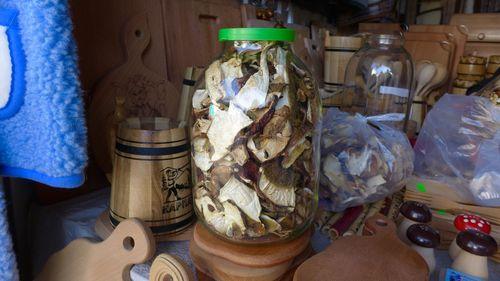 Хранение грибов в банке