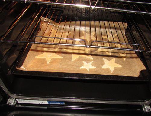 Печенье в духовом шкафу