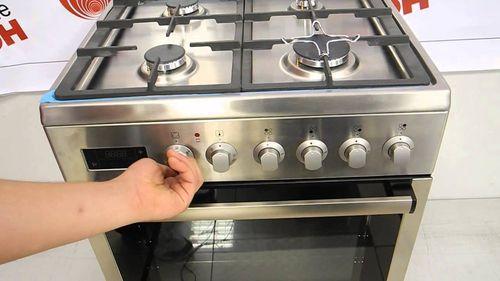 Газовая плита Горение с электрической духовкой