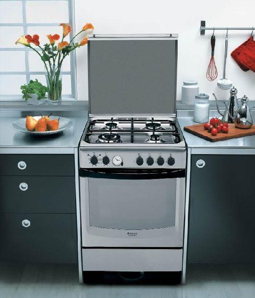Кухонная плита с духовкой 50 см