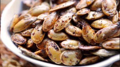 Жаренные семена тыквы