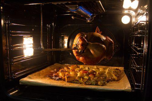 Курица гриль с картошкой