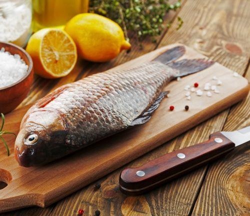 Рыба карась