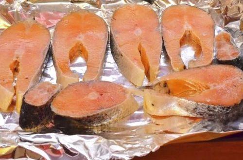 Приготовление лосося