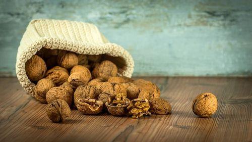 Мешок с орехами