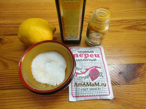 Продукты для маринада
